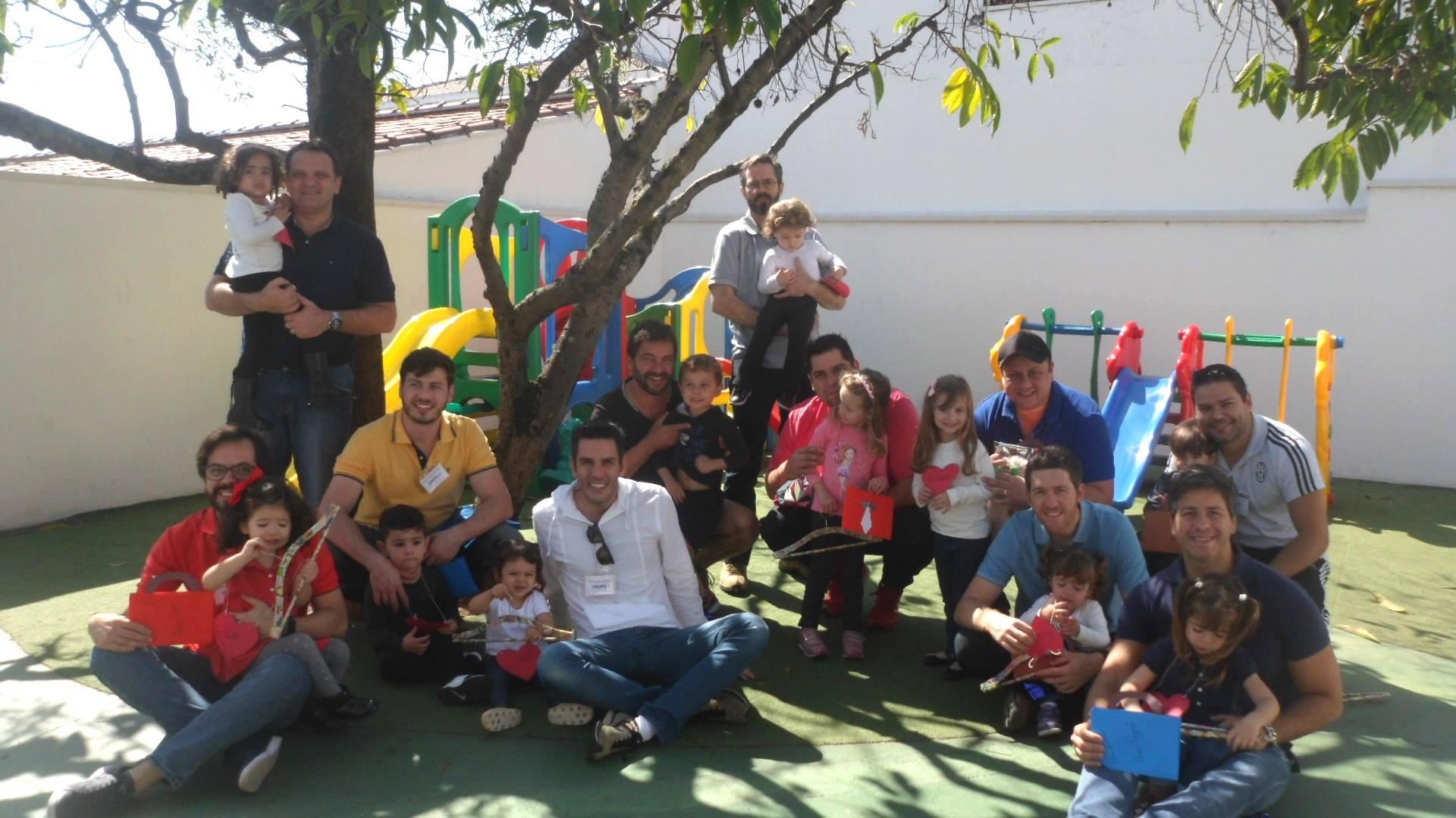 Comemoração do Dia dos Pais na escola
